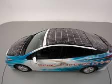 Toyota aapt Lightyear One na met zonnepaneel-auto