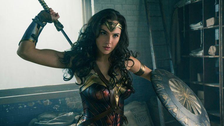 Wonder Woman is de vrouw die in het Trumptijdperk door een glazen plafond breekt. Beeld Clay Enos