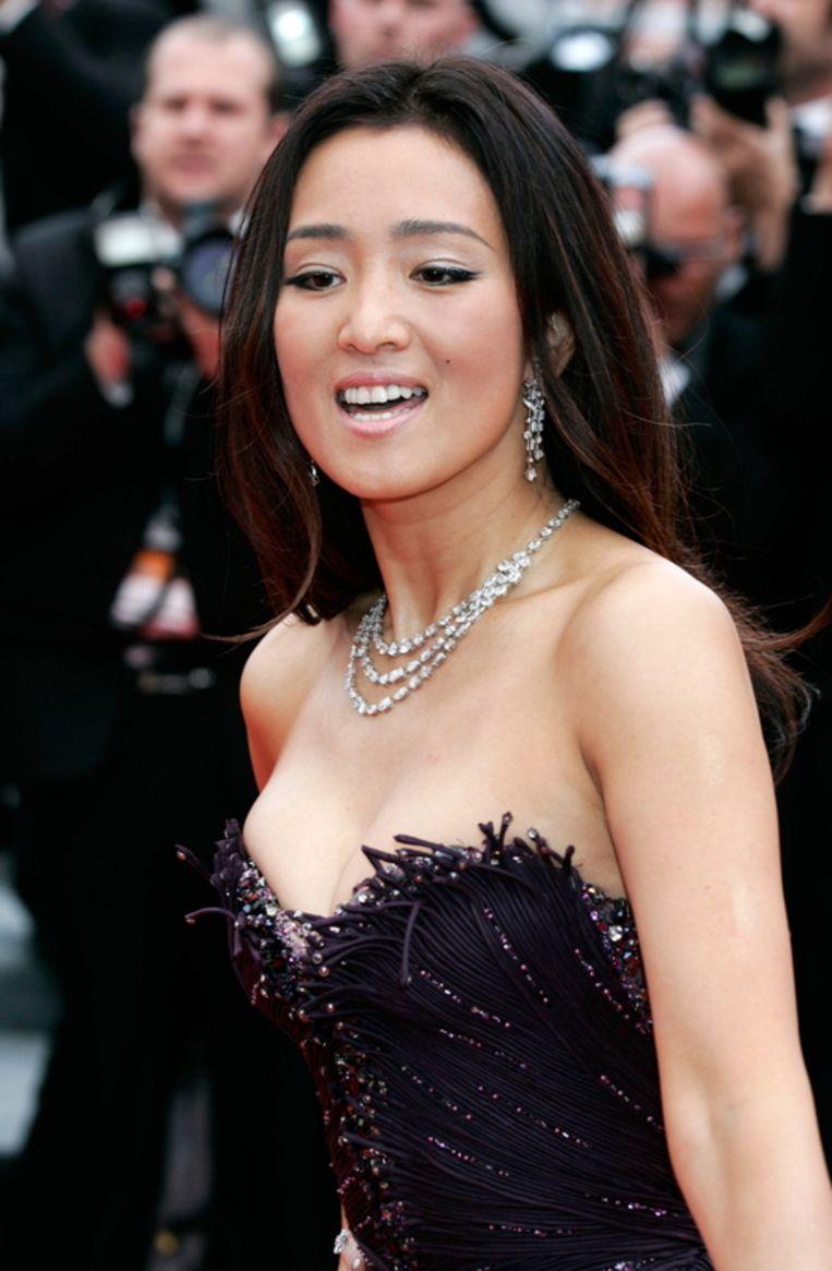Gong Li. Beeld null