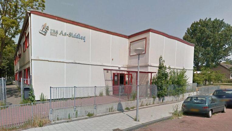 De school is meerdere keren beschoten tijdens de kerstvakantie Beeld Google Streetview
