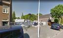 De Strijpsestraat in Eindhoven. Op de locatie van autobedrijf Van der Wiel is een plan gemaakt voor onder andere studentenhuisvesting.
