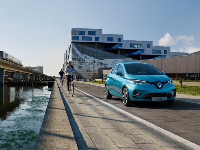 De Renault Zoe