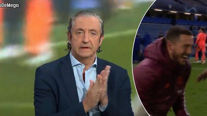 José Pedrerol is niet mals voor Eden Hazard.