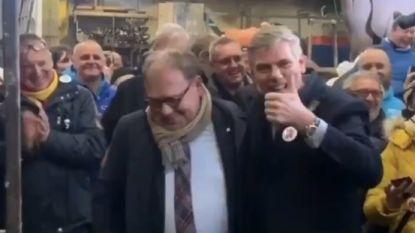 """Dewinter (VB) en Aalsters burgemeester D'Haese (N-VA) """"doorbreken symbolisch het cordon sanitaire"""""""