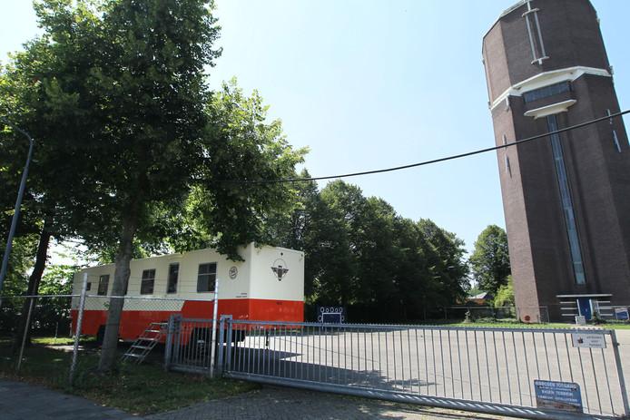 Rondom de watertoren van Helmond wordt in 2021 een park aangelegd, dat aansluit bij de nieuwe woningen op het AH-XL-terrein.