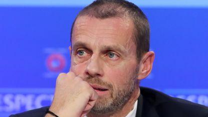 """UEFA-voorzitter Ceferin maakt standpunt duidelijk: """"België riskeert uitsluiting van Europees voetbal"""""""