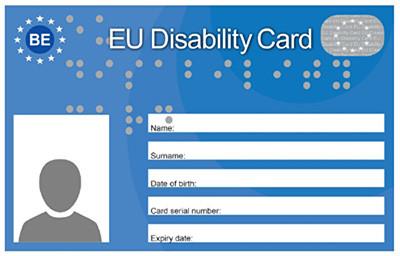 De European Disability Card (EDC)