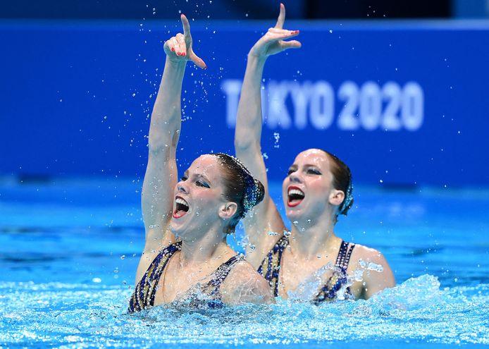 De zusjes Noortje en Bregje de Brouwer uit Goirle actief op de Olympische Spelen.