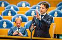 Joost Sneller (D66) in de Tweede Kamer .