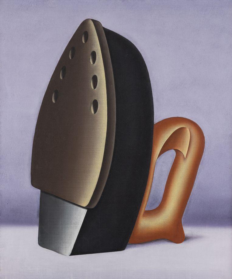 Der Hausdrache (1964) van Konrad Klapheck. Beeld Horst Ziegenfusz