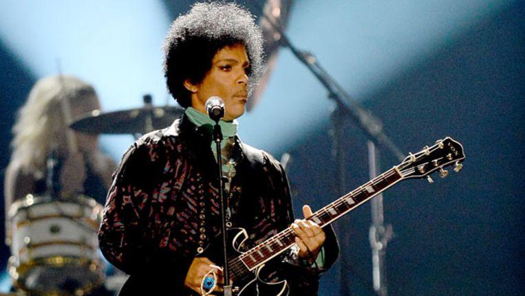 Prince in mei op de Billboard Music Awards. Beeld AFP/Getty