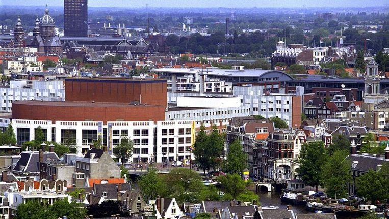 Het stadhuis van Amsterdam. © ANP Beeld