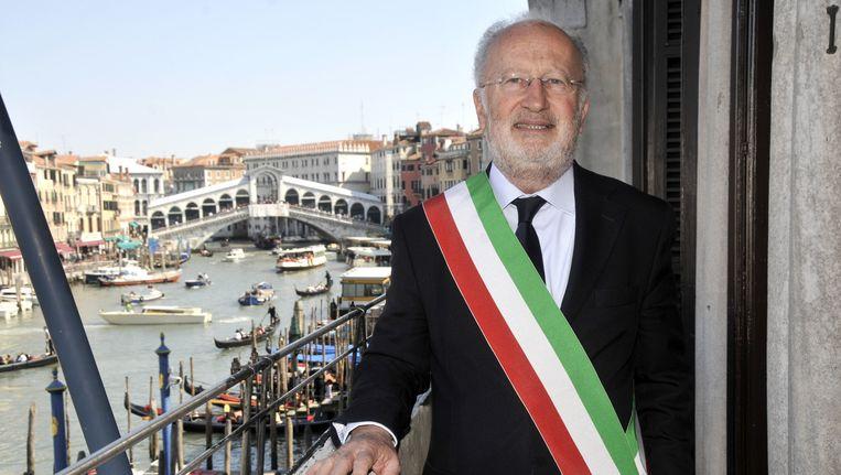 De Venetiaanse burgervader Giorgio Orsoni stapt op. Beeld AP