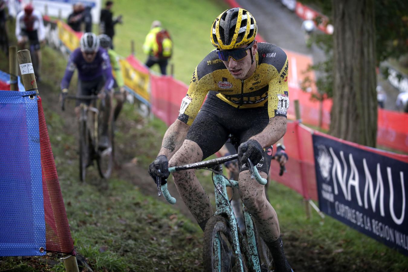 Tim van Dijke, hier in actie in Namen, finishte in Dendermonde als achttiende bij de elites.