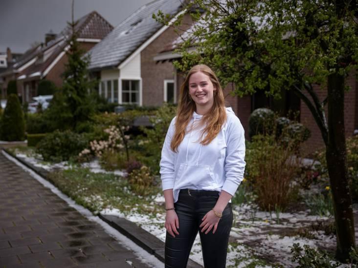 Naomi (18) is net verhuisd binnen Zevenbergen: 'Zo fijn dat we hier blijven wonen'