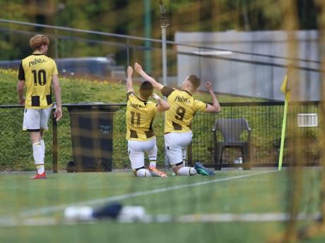 Jong Vitesse in laatste thuisduel te sterk voor GVVV