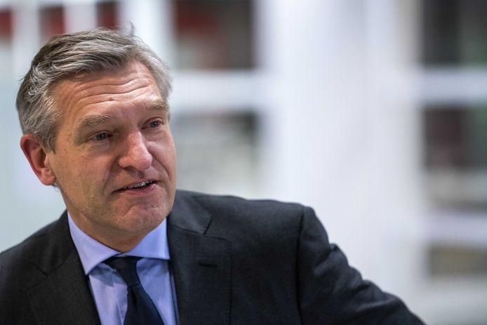 2021-01-11 18:30:04 UTRECHT - Burgemeester Sybrand Buma van Leeuwarden.