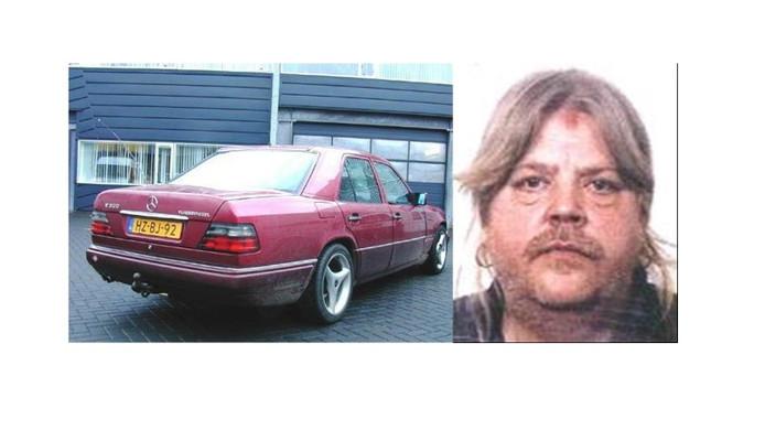 De auto zoals deze 18 jaar geleden over de A28 reed. En een foto van hoe Johannes Versfeld we in 2000 uitzag.