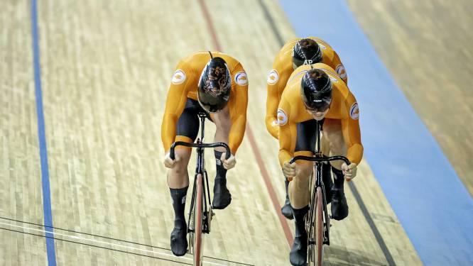 Vierde wereldtitel op rij voor Nederlandse teamsprinters