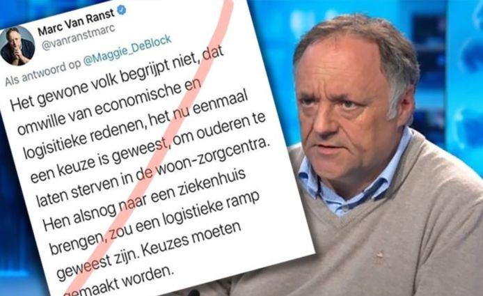 Marc Van Ranst engagera une action en justice contre l'auteur de ces actes