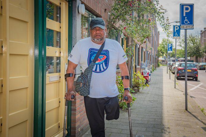 Jerry heeft eindelijk zicht op een woning op de begane grond in de Schilderswijk.
