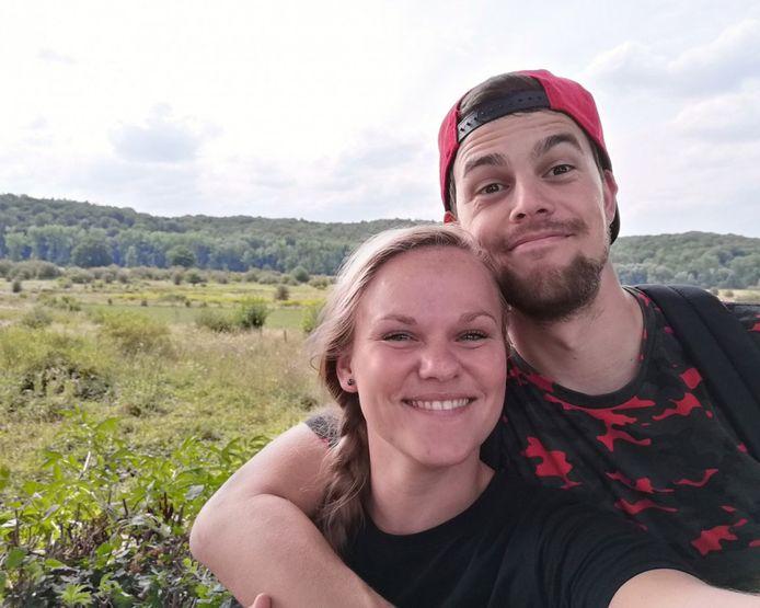 Elise en Jonathan zijn helemaal happy.
