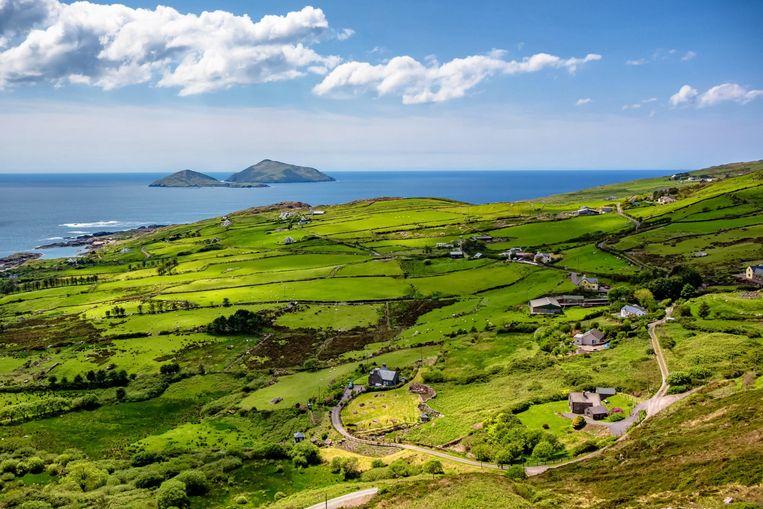 Een absolute must, de Ring of Kerry, langs de kust van het schiereiland Iveragh.   Beeld Alamy Stock Photo