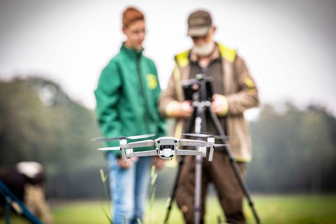 De drone van Vogelwerkgroep Geesteren: precies dezelfde wil ANV Land&Schap nu aanschaffen.