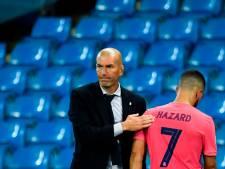 """Zidane prend la défense d'Eden Hazard:   """"Il n'avait pas l'intention de blesser qui que ce soit"""""""