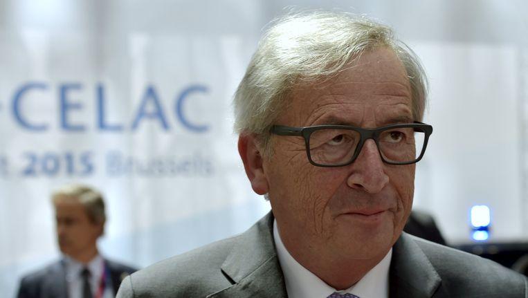 Jean-Claude Juncker, voorzitter van de Europese Commissie.