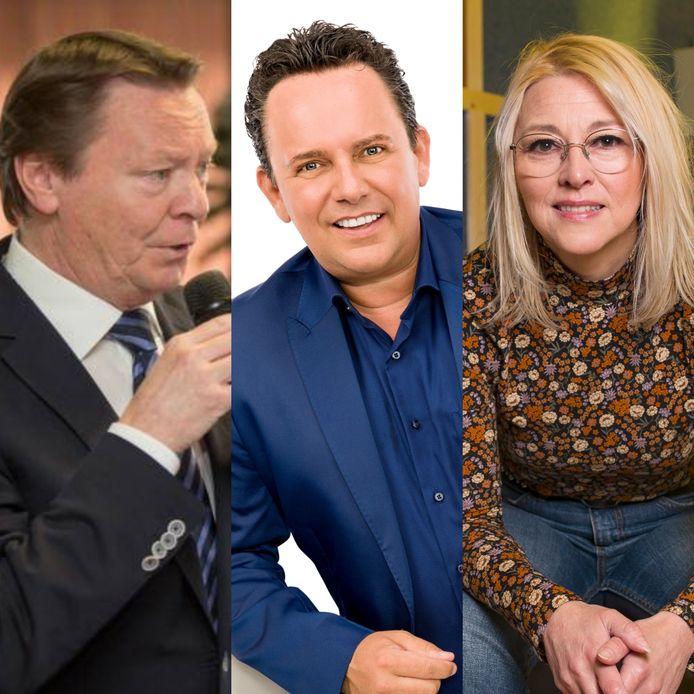 Johan Schatteman, Phil Kevin en Claudia Decaluwé blikken in Dag Allemaal terug op hun gloriejaren tijdens 'Tien Om Te Zien'.