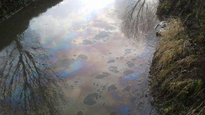 Lek in olietank trekt spoor van minstens 1 kilometer op Grote Gete
