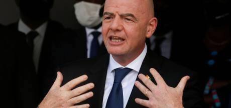"""Les clubs de la Super League doivent-ils être sanctionnés? Infantino """"préfère le dialogue au conflit"""""""