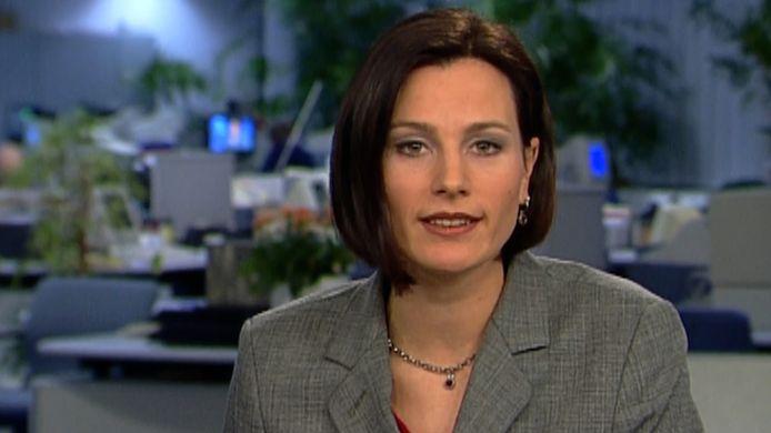 Zo presenteerde Birgit 23 jaar geleden haar eerste VTM NIEUWS