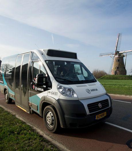 50.000ste passagier voor Buurtbus Rekken