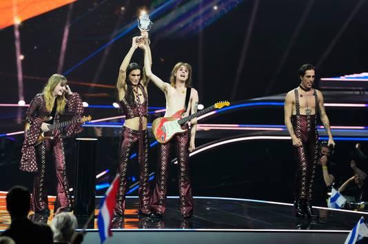 Winnaar Eurovisie Song Festival 2021 - Maneskin uit Italie