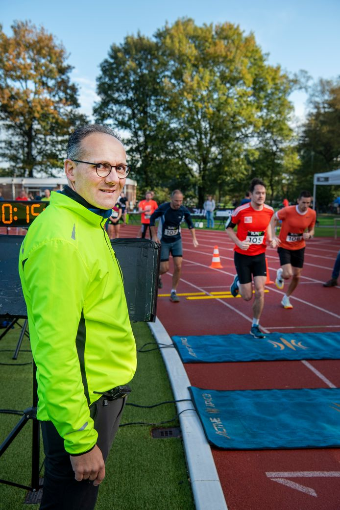 Organisator Rudy ten Tusscher was tevreden over het verloop van de Orderbostrail.