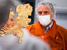 Bijna duizend besmettingen in week tijd in regio, kijk op deze kaart hoe het zit in jouw gemeente