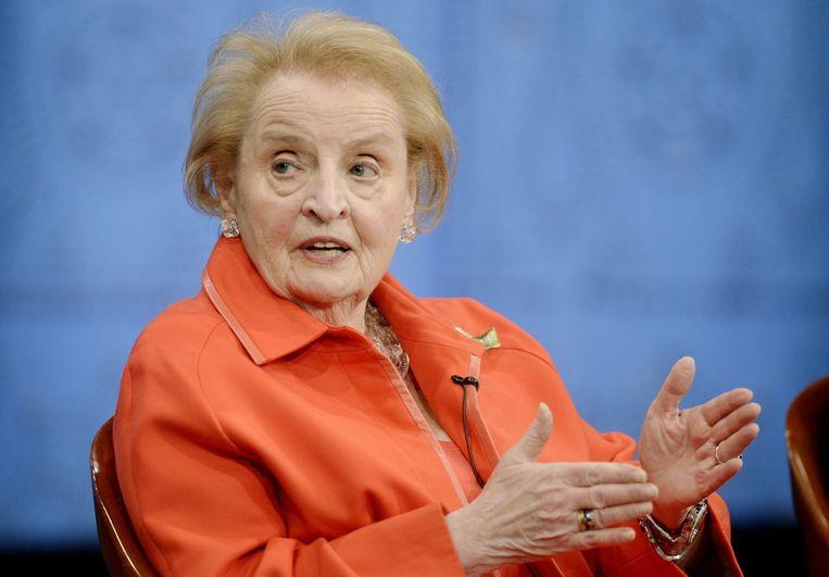 Madeleine Albright Beeld epa