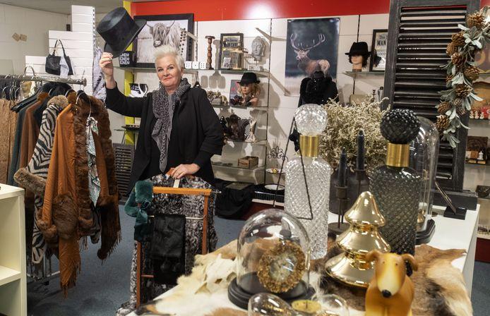 Mieke Rietman begint een pop-upstore op de bovenverdieping van het oude Wildenborgpand. Tot februari verkoopt ze brocante en lifestyle-artikelen.