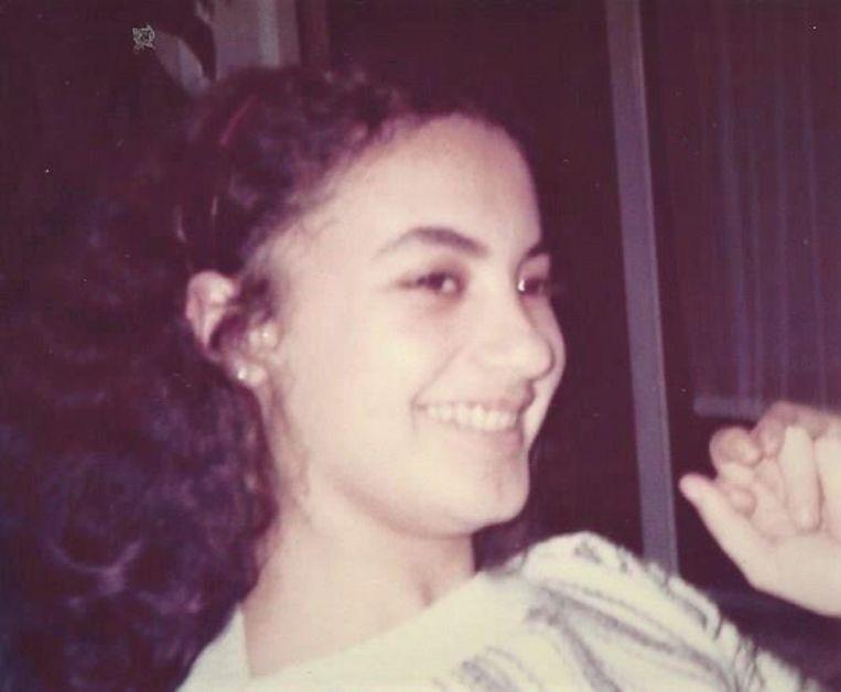 Pytha als vijftienjarige. Beeld