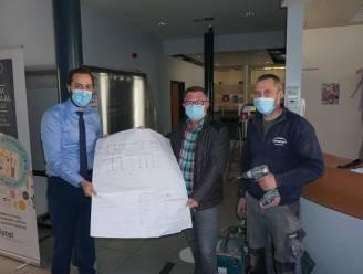 Administratief centrum krijgt betere ventilatie en duurzame verwarmingsinstallatie