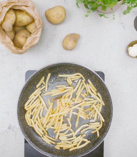 Overgebleven frietjes? Zo maak je ze weer knapperig