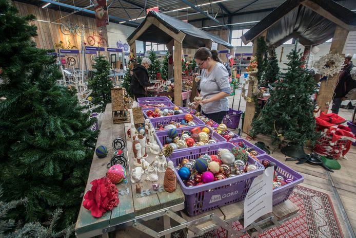 Kerstmarkt (2017) bij kringloop 't Goed in Geldrop