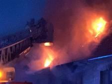 Zware uitslaande brand in woning in Sint-Andries, één slachtoffer met brandwonden naar UZ Gent