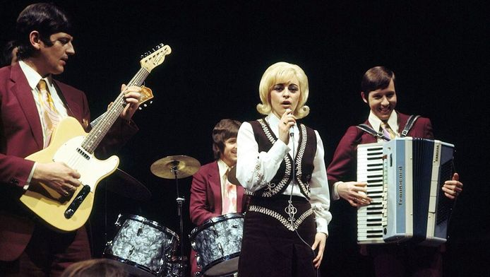 Corry Konings in 1970.