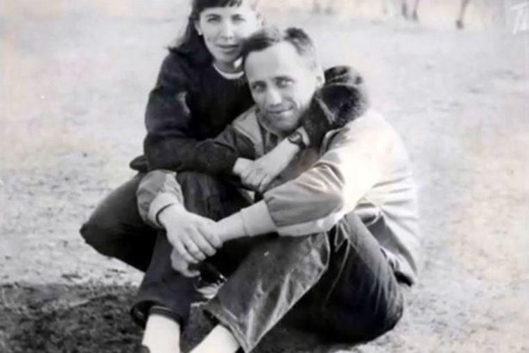 Popkov met zijn vrouw Elena.