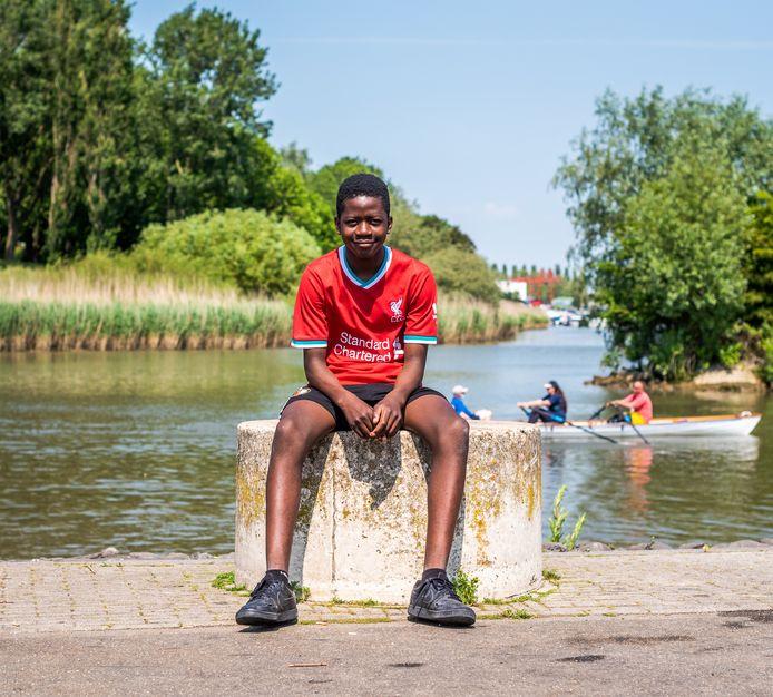 Exaucé Klein wil ooit misschien terug naar Congo, om te kijken waar hij vandaan komt.