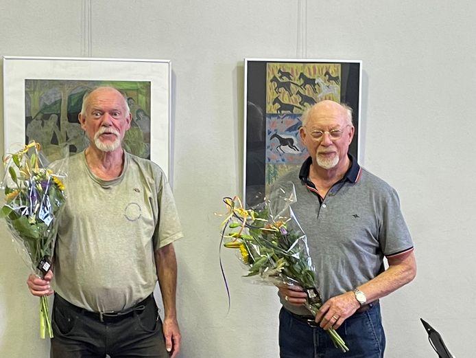 Henk Reints (l) en Anton Fransen