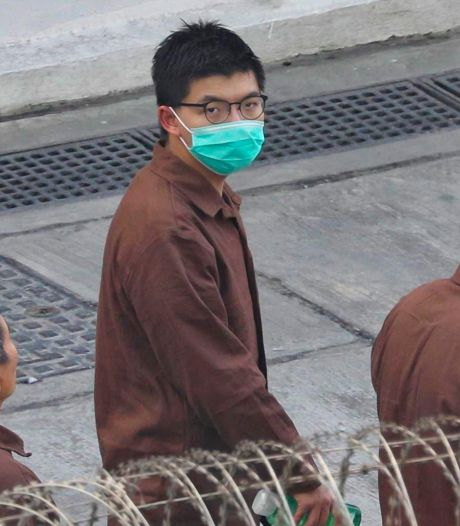 10 maanden extra cel voor Hongkongse activist Wong